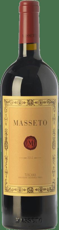 1 007,95 € 免费送货 | 红酒 Ornellaia Masseto I.G.T. Toscana 托斯卡纳 意大利 Merlot 瓶子 75 cl