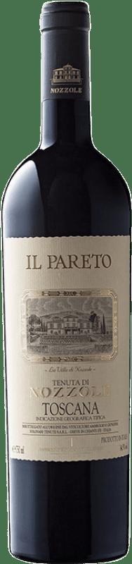 48,95 € | Red wine Tenuta di Nozzole Il Pareto I.G.T. Toscana Tuscany Italy Cabernet Sauvignon Bottle 75 cl