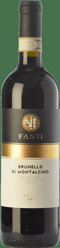 48,95 € Free Shipping | Red wine Vignaiolo Tenuta Fanti D.O.C.G. Brunello di Montalcino Tuscany Italy Sangiovese Bottle 75 cl