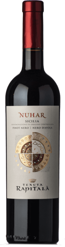 14,95 €   Red wine Rapitalà Nuhar I.G.T. Terre Siciliane Sicily Italy Pinot Black, Nero d'Avola Bottle 75 cl