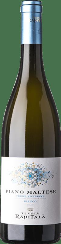 9,95 €   White wine Rapitalà Rapitalà Piano Maltese I.G.T. Terre Siciliane Sicily Italy Chardonnay, Catarratto Bottle 75 cl