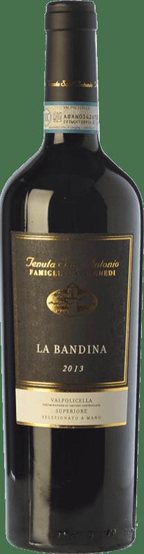 21,95 € Envoi gratuit | Vin rouge Tenuta Sant'Antonio Superiore Bandina D.O.C. Valpolicella Vénétie Italie Corvina, Rondinella, Oseleta, Croatina Bouteille 75 cl