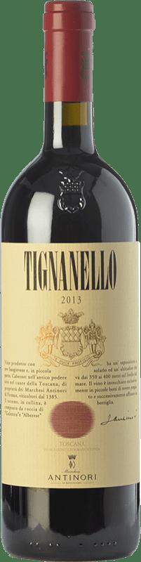 93,95 € Free Shipping | Red wine Antinori Tignanello Marchesi Antinori I.G.T. Toscana Tuscany Italy Cabernet Sauvignon, Sangiovese, Cabernet Franc Bottle 75 cl