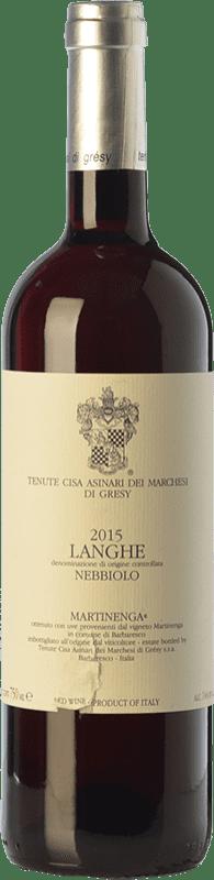 22,95 € | Red wine Cisa Asinari Marchesi di Grésy Martin D.O.C. Langhe Piemonte Italy Nebbiolo Bottle 75 cl