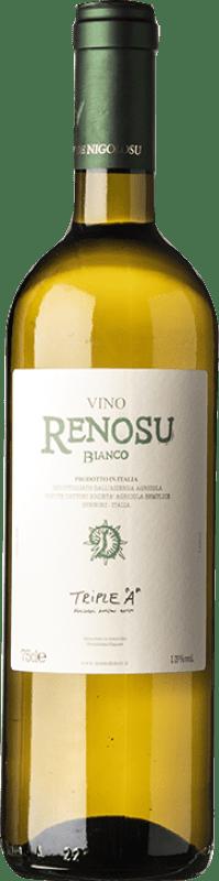 13,95 € Free Shipping | White wine Dettori Renosu Bianco I.G.T. Romangia Sardegna Italy Vermentino, Muscat White Bottle 75 cl
