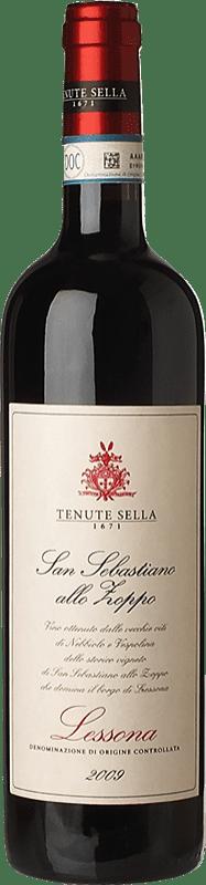 41,95 € Free Shipping | Red wine Tenute Sella S. Sebastiano allo Zoppo 2009 D.O.C. Lessona Piemonte Italy Nebbiolo, Vespolina Bottle 75 cl