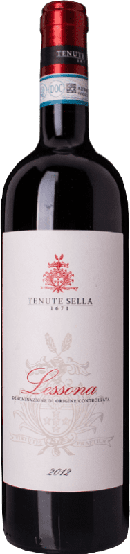 26,95 € | Red wine Tenute Sella D.O.C. Lessona Piemonte Italy Nebbiolo, Vespolina Bottle 75 cl
