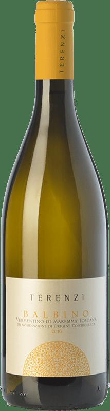 12,95 € | White wine Terenzi Balbino D.O.C. Maremma Toscana Tuscany Italy Vermentino Bottle 75 cl