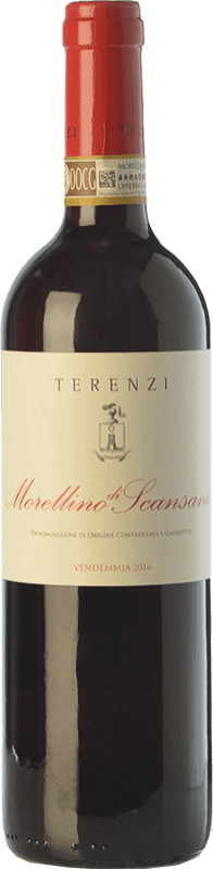 12,95 € | Red wine Terenzi D.O.C.G. Morellino di Scansano Tuscany Italy Sangiovese Bottle 75 cl