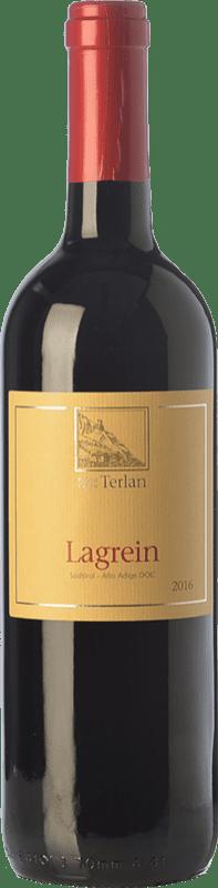 17,95 € | Red wine Terlano D.O.C. Alto Adige Trentino-Alto Adige Italy Lagrein Bottle 75 cl