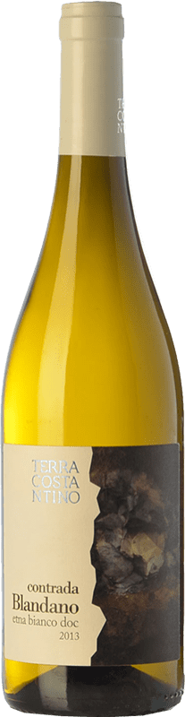 27,95 € Free Shipping | White wine Terra Costantino Bianco Blandano D.O.C. Etna Sicily Italy Carricante, Catarratto Bottle 75 cl