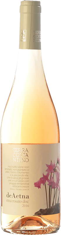 21,95 € Free Shipping | Rosé wine Terra Costantino Rosato D.O.C. Etna Sicily Italy Nerello Mascalese Bottle 75 cl