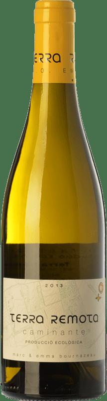 21,95 € Envío gratis | Vino blanco Terra Remota Caminante Crianza D.O. Empordà Cataluña España Garnacha Blanca, Chardonnay, Chenin Blanco Botella 75 cl