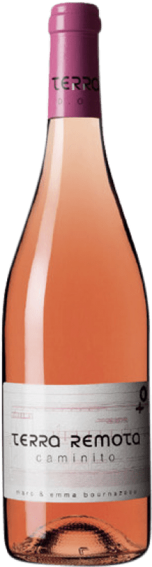 17,95 € Free Shipping | Rosé wine Terra Remota Caminito D.O. Empordà Catalonia Spain Tempranillo, Syrah, Grenache Bottle 75 cl