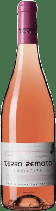 21,95 € Envío gratis | Vino rosado Terra Remota Caminito D.O. Empordà Cataluña España Tempranillo, Syrah, Garnacha Botella 75 cl