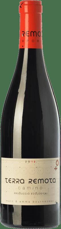 16,95 € Envío gratis | Vino tinto Terra Remota Camino Crianza D.O. Empordà Cataluña España Tempranillo, Syrah, Garnacha, Cabernet Sauvignon Botella 75 cl