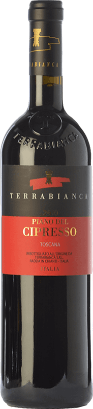 27,95 € Free Shipping | Red wine Terrabianca Piano del Cipresso I.G.T. Toscana Tuscany Italy Sangiovese Bottle 75 cl