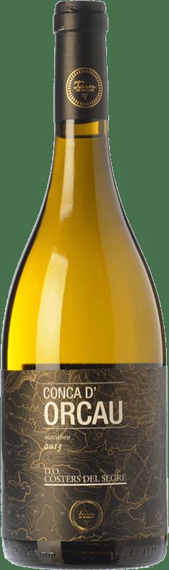 21,95 € | White wine Terrer de Pallars Conca d'Orcau Blanc Crianza D.O. Costers del Segre Catalonia Spain Macabeo Bottle 75 cl