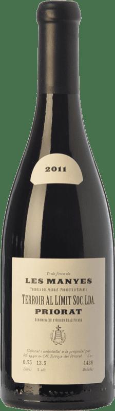 209,95 € Envío gratis | Vino tinto Terroir al Límit Les Manyes Reserva D.O.Ca. Priorat Cataluña España Garnacha Botella 75 cl