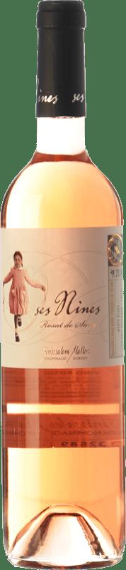 13,95 € Envío gratis | Vino rosado Tianna Negre Ses Nines Rosat de Sang D.O. Binissalem Islas Baleares España Cabernet Sauvignon, Callet, Mantonegro Botella 75 cl