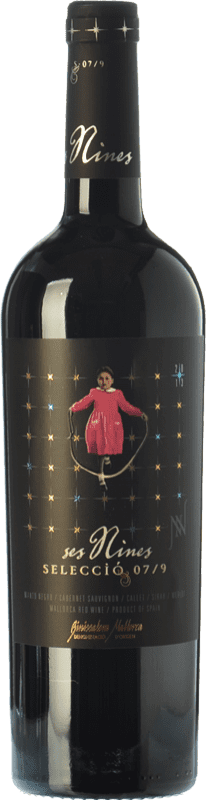 18,95 € | Red wine Tianna Negre Ses Nines Selecció 07/9 Crianza D.O. Binissalem Balearic Islands Spain Syrah, Callet, Mantonegro Bottle 75 cl