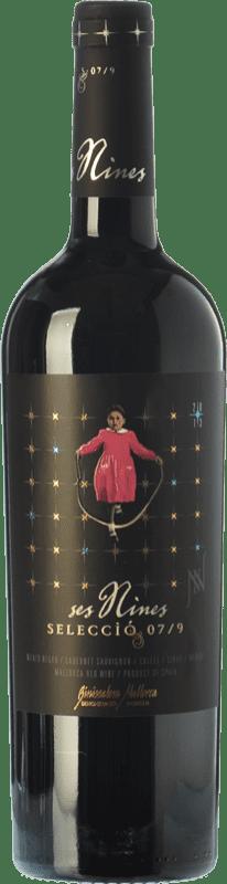 18,95 € Envío gratis | Vino tinto Tianna Negre Ses Nines Selecció 07/9 Crianza D.O. Binissalem Islas Baleares España Syrah, Callet, Mantonegro Botella 75 cl