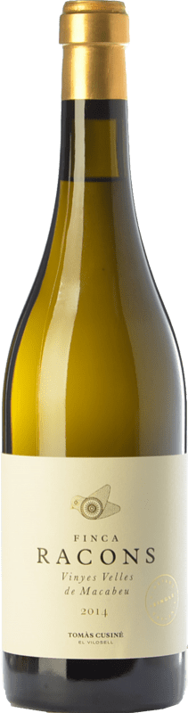 24,95 € | White wine Tomàs Cusiné Finca Racons Crianza D.O. Costers del Segre Catalonia Spain Macabeo Bottle 75 cl