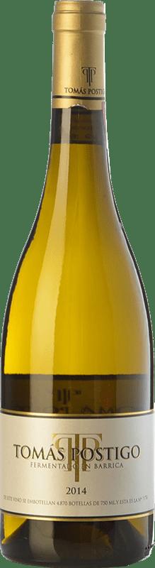 26,95 € | Vino blanco Tomás Postigo Fermentado en Barrica Crianza I.G.P. Vino de la Tierra de Castilla y León Castilla y León España Verdejo Botella 75 cl