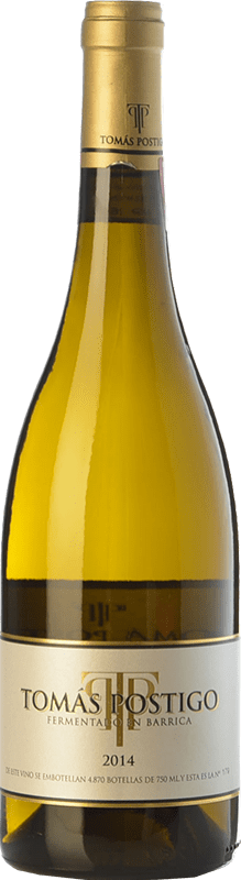 26,95 € Free Shipping | White wine Tomás Postigo Fermentado en Barrica Crianza I.G.P. Vino de la Tierra de Castilla y León Castilla y León Spain Verdejo Bottle 75 cl