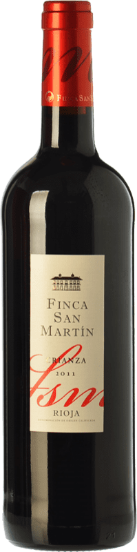 8,95 € | Red wine Torre de Oña Finca San Martín Crianza D.O.Ca. Rioja The Rioja Spain Tempranillo Bottle 75 cl