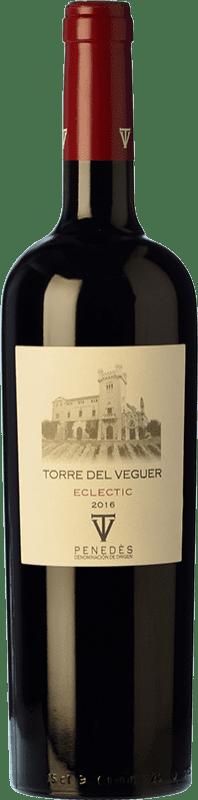 11,95 € | Red wine Torre del Veguer Eclèctic Crianza D.O. Penedès Catalonia Spain Merlot, Cabernet Sauvignon, Petite Syrah Bottle 75 cl