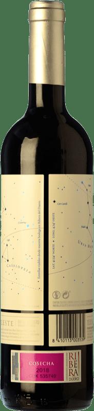 7,95 € Free Shipping | Red wine Torres Celeste Roble D.O. Ribera del Duero Castilla y León Spain Tempranillo Bottle 75 cl