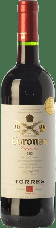 8,95 € | Red wine Torres Coronas Crianza D.O. Catalunya Catalonia Spain Tempranillo, Cabernet Sauvignon Bottle 75 cl