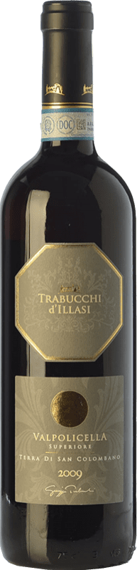 14,95 € Free Shipping | Red wine Trabucchi Terra di San Colombano D.O.C. Valpolicella Veneto Italy Corvina, Rondinella, Corvinone, Oseleta Bottle 75 cl