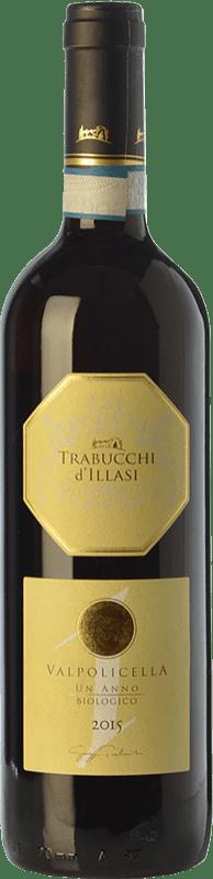 8,95 € Free Shipping | Red wine Trabucchi Un Anno D.O.C. Valpolicella Veneto Italy Corvina, Rondinella, Corvinone, Oseleta, Croatina Bottle 75 cl