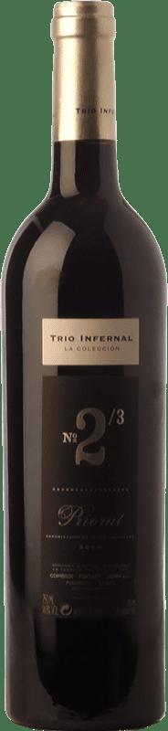 69,95 € Free Shipping | Red wine Trio Infernal 2/3 Crianza 2007 D.O.Ca. Priorat Catalonia Spain Carignan Bottle 75 cl