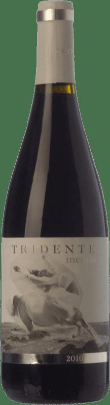 9,95 € Envío gratis | Vino tinto Tritón Tridente Joven I.G.P. Vino de la Tierra de Castilla y León Castilla y León España Mencía Botella 75 cl