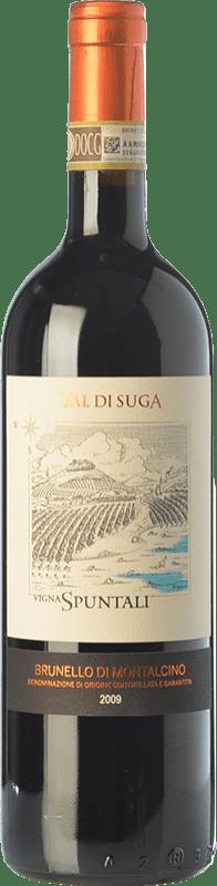 81,95 € Free Shipping | Red wine Val di Suga Vigna Spuntali 2009 D.O.C.G. Brunello di Montalcino Tuscany Italy Sangiovese Bottle 75 cl