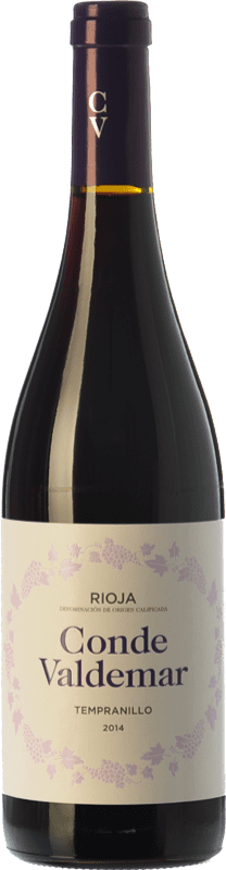 5,95 € Free Shipping | Red wine Valdemar Conde de Valdemar Joven D.O.Ca. Rioja The Rioja Spain Tempranillo Bottle 75 cl