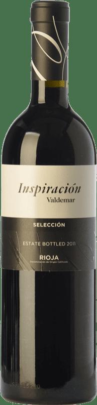 14,95 € 免费送货   红酒 Valdemar Inspiración Crianza D.O.Ca. Rioja 拉里奥哈 西班牙 Tempranillo, Graciano, Maturana Tinta 瓶子 75 cl
