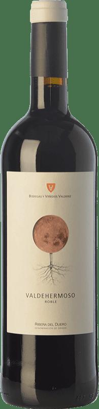8,95 € | Red wine Valderiz Valdehermoso 9 Meses Joven D.O. Ribera del Duero Castilla y León Spain Tempranillo Bottle 75 cl