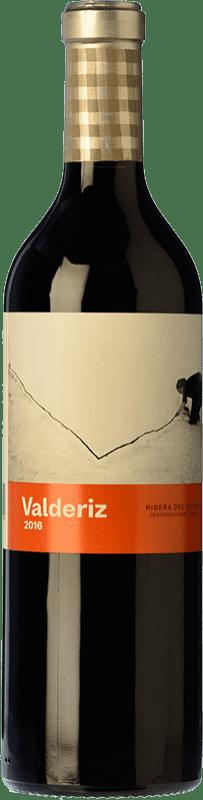 21,95 € | Red wine Valderiz Crianza D.O. Ribera del Duero Castilla y León Spain Tempranillo Bottle 75 cl