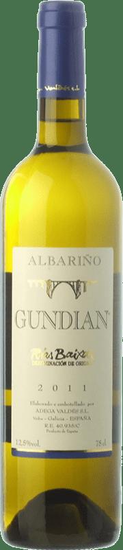 8,95 € 免费送货   白酒 Valdés Gundián D.O. Rías Baixas 加利西亚 西班牙 Albariño 瓶子 75 cl