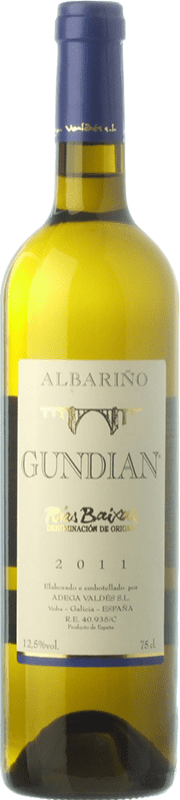 8,95 € | White wine Valdés Gundián D.O. Rías Baixas Galicia Spain Albariño Bottle 75 cl