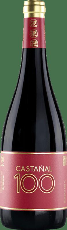 29,95 € Free Shipping | Red wine Valmiñor Davila C100 Crianza D.O. Rías Baixas Galicia Spain Castañal Bottle 75 cl