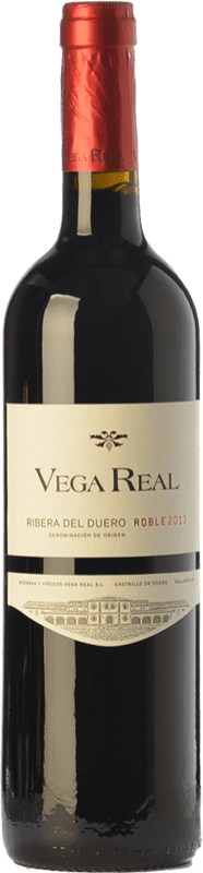 7,95 € Free Shipping | Red wine Vega Real Roble D.O. Ribera del Duero Castilla y León Spain Tempranillo Bottle 75 cl