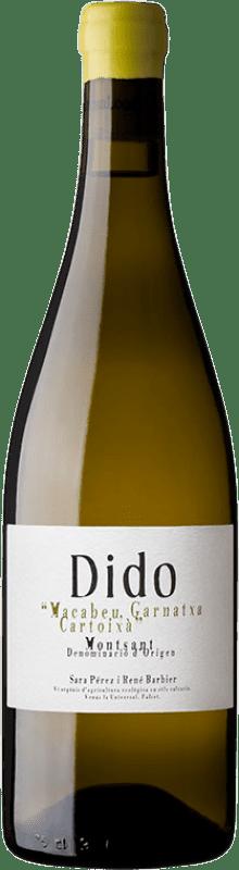 18,95 € 免费送货 | 白酒 Venus La Universal Dido Blanc Crianza D.O. Montsant 加泰罗尼亚 西班牙 Grenache White, Macabeo, Xarel·lo 瓶子 75 cl