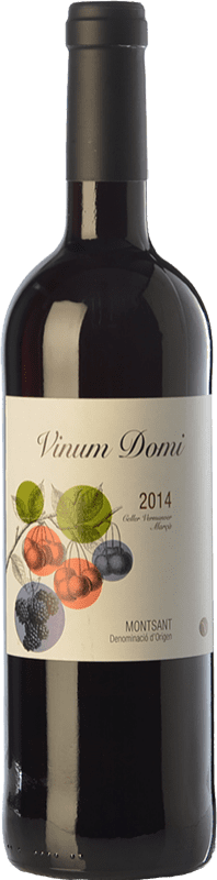 7,95 € | Red wine Vermunver Vinum Domi Joven D.O. Montsant Catalonia Spain Merlot, Grenache, Carignan Bottle 75 cl