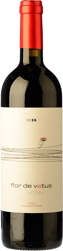 Free Shipping | Red wine Vetus Flor Joven 2015 D.O. Toro Castilla y León Spain Tinta de Toro Bottle 75 cl