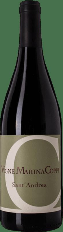 13,95 € Free Shipping | Red wine Coppi Sant'Andrea D.O.C. Colli Tortonesi Piemonte Italy Barbera, Croatina Bottle 75 cl